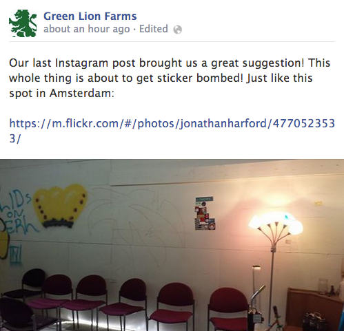 green lion farms facebook