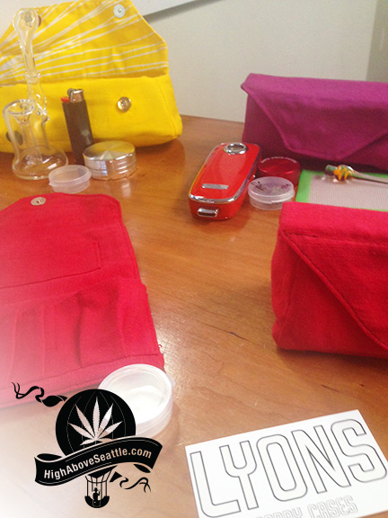 Lyons Carry Cases by Paul Lions For Glass Pipes and Vaporizers