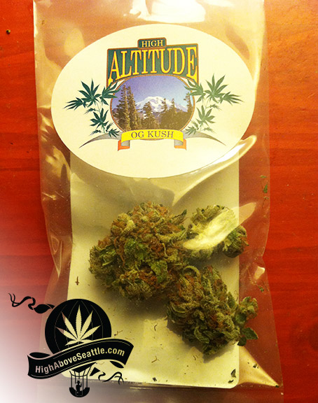 OG Kush High Altitude Green Theory Bellevue