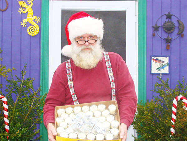 Get your photo with Sativa Santa!