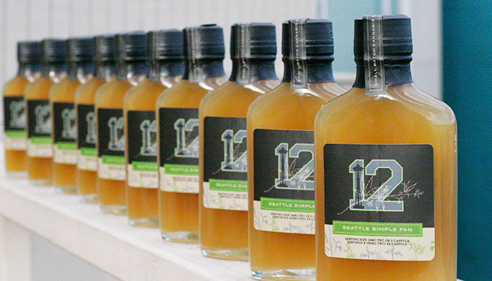 Craft Elixirs 12th Man cannabis infused syrups