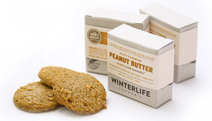 Winterlife Cannabis Peanut Butter Cookies