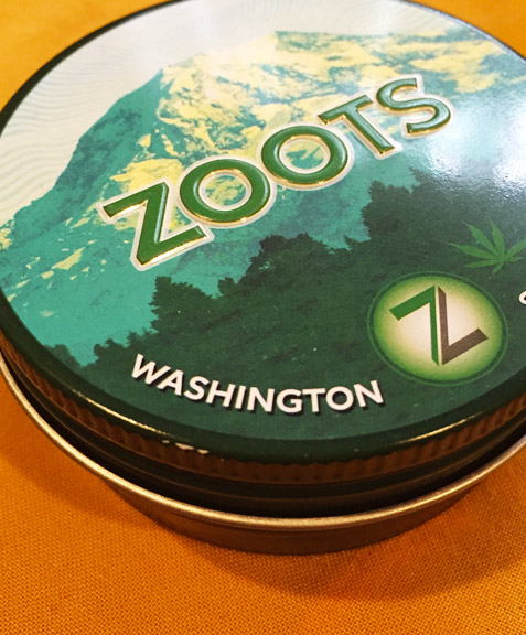 Zoots Zootrocks lemongrass cannabis-infused nuggets top