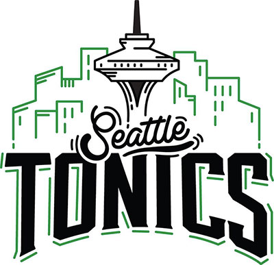 Seattle Tonics recreational marijuana store logo