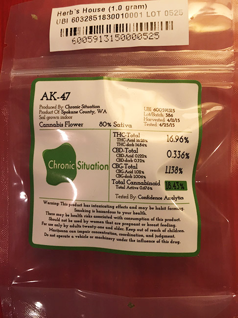 AK-47 by Chronic Situation sold at Herbs House