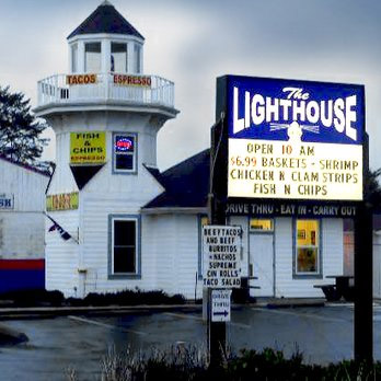 Ocean Shores Lighthouse Fish & Chips