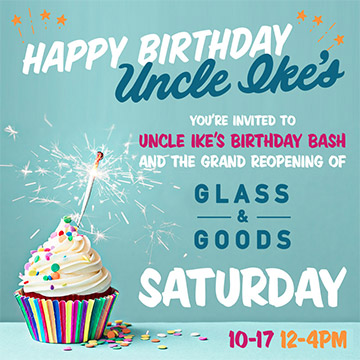 Happy Birthday Uncle Ike's
