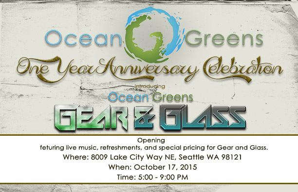Ocean greens birthday celebration