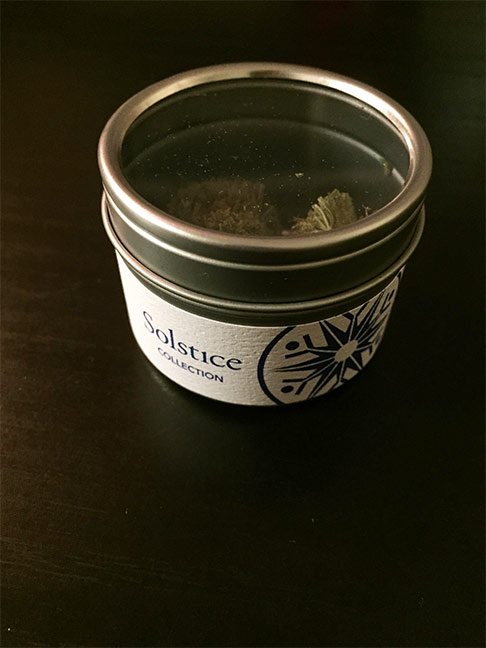 Solstice skunkberry marijuana review