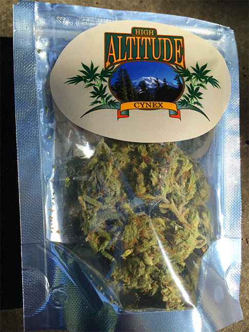High Altitude Cynex marijuana review