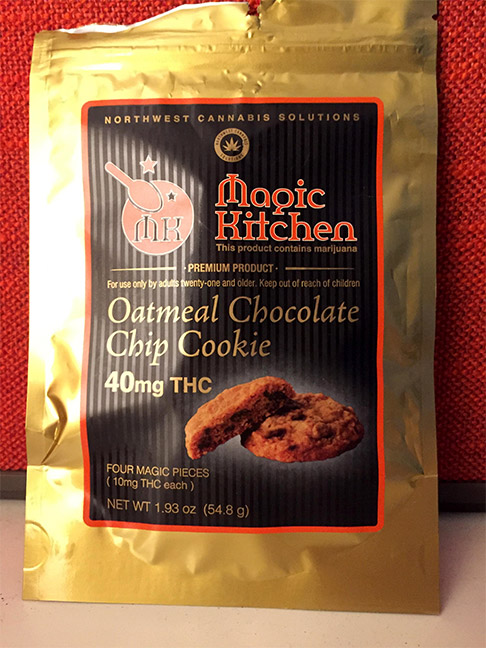 edible review oatmeal cookie magic kitchen